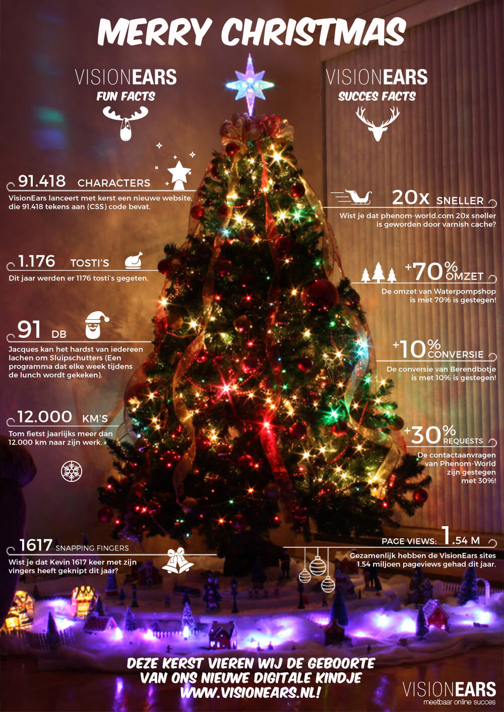 Merry Christmas Infographic